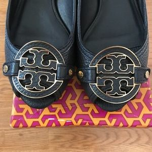 Tory Burch Shoes - Tory Burch Navy Wedges